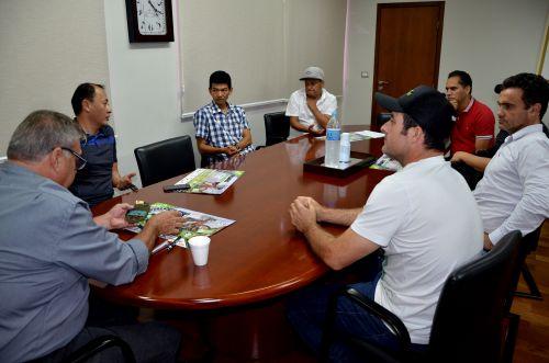 Equipe Bira Bikers se reúne com prefeito Baco para apresentar eventos de 2018