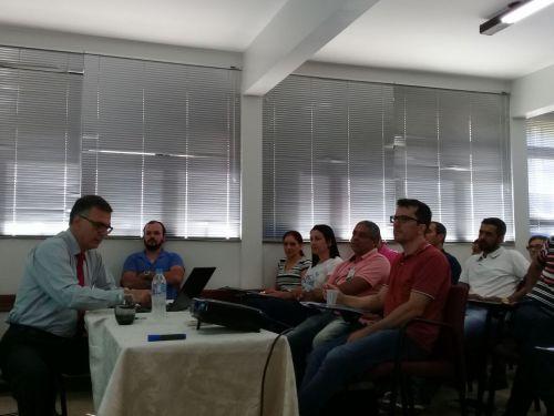 Servidores municipais participam de curso sobre Elaboração de Manuais de Normas e Procedimentos