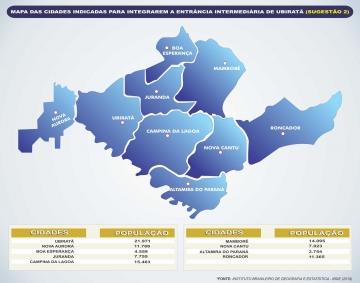 Uma das sugestões apresentadas seria para que a comarca passe de dois para nove municípios