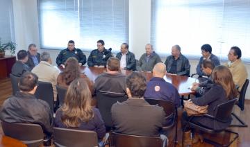 Major Castro anunciou que a partir dessa terça-feira quem comanda a Companhia da PM de Ubiratã é o Capitão Alessandro dos Reis
