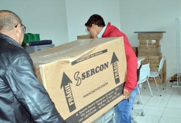São dezenas de equipamentos entregues ao município nessa terça-feira (27)