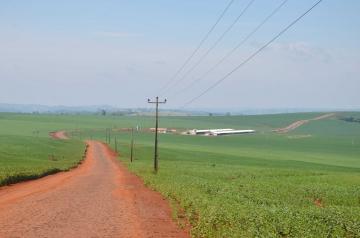 Ao todo são 5,1 quilômetros de pavimentação poliédrica na Estrada Mato Grosso