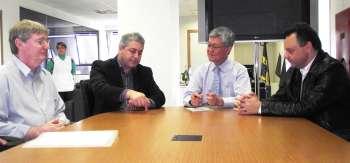 Cássio Taniguchi conheceu as dificuldades enfrentadas atualmente no Campus da UEPR/Fecilcam