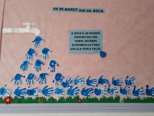Dia da Água no CMEI Dona Mariquinha