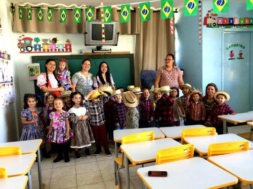CMEI Dona Mariquinha: A Origem da Festa Junina...