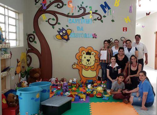 Concurso de logomarca - JEPP Jovens Empreendedores Primeiros Passos - Entrega de brinquedos