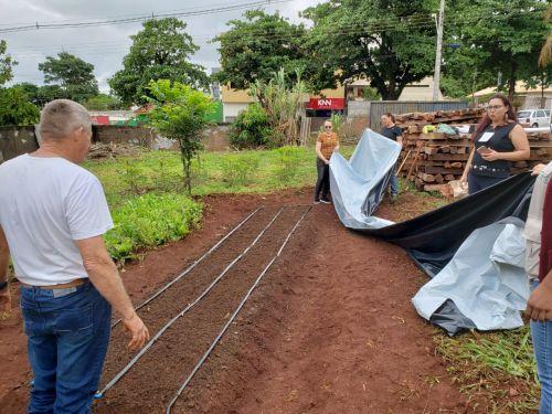 Realizado em Ubiratã curso sobre produção de hortifrútis em ambiente protegido