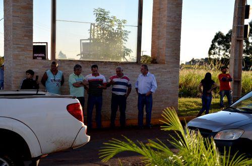 Carreata e missa marcaram ato de apoio a mobilização dos caminhoneiros