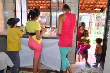 Atualmente cinco crianças e adolescentes são acolhidos na Casa Lar de Ubiratã
