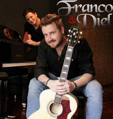 Show deste sábado na Praça será com a dupla Franco e Diel