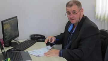 Ademir Luiz Medina, relator titular da Agência Jucepar de Ubiratã