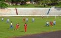 O jogo foi muito disputado e o placar mostra a tônica da partida: 3 x 3