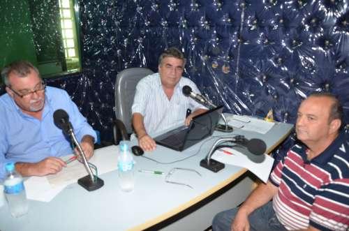 Prefeito e vice falaram na imprensa sobre os 100 primeiros dias de governo