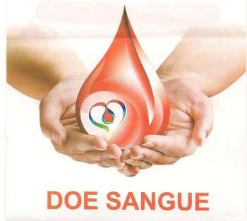 A coleta de sangue será no dia 22 de maio ao lado do Posto de Saúde Central