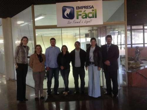 Comitê Gestor de Ubiratã do Programa Cidade Empreendedora visita Tupãssi e Cascavel
