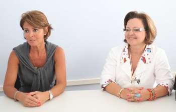 Fernanda Richa e Luciane D´Alécio conversaram sobre medidas a serem tomadas para melhorar ainda mais a qualidade de vida das famílias
