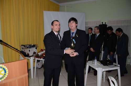 Sgt. Teodoro é o novo presidente do Rotary Clube de Ubiratã