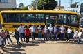 Prefeitura de Ubiratã recebeu e doou ônibus moderno para APAE