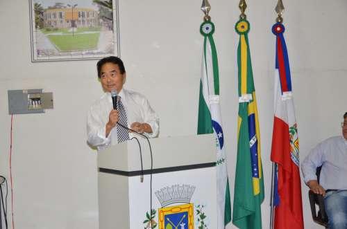 Takayama reforçou sua parceria com a administração municipal