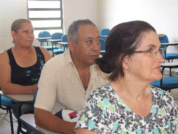 O público alvo dessa palestra de orientação foram os idosos que são mais acometidos pelo glaucoma