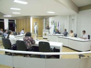 Geraldo José dos Santos usou a tribuna para apresentar seus trabalhos frente a Secretaria de Desenvolvimento Econômico