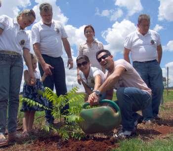Os membros dos Lions Clubes elogiaram a iniciativa da administração municipal