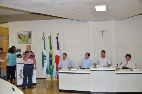 Vice-prefeito Beraldo agradeceu a mais esta visita do deputado