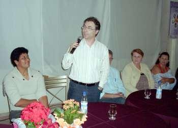 Vice-prefeito Orlando Vieira Filho representou o prefeito Fábio D'Alécio
