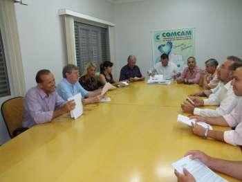 A união dos prefeitos tem dado resultados positivos no que diz respeito a boa funcionalidade dos consórcios da região da Comcam