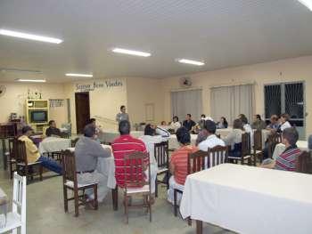 Orlando Francisco Vieira Filho representou o prefeito Fábio D'Alécio nessa reunião