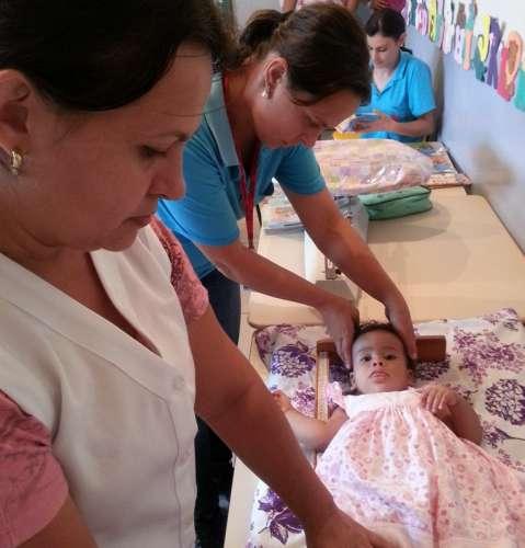 Agentes de saúde visitaram todas as escolas do município