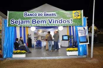 O Banco do Brasil foi um dos parceiros na realização dessa festa