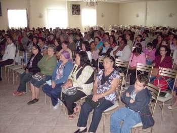 Pouco mais de 150 mulheres de Ubiratã, Campina da Lagoa e Juranda participaram desse encontro
