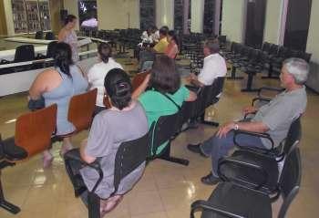 Membros do Conselho Municipal de Saúde participaram da audiência realizada na Câmara de Vereadores