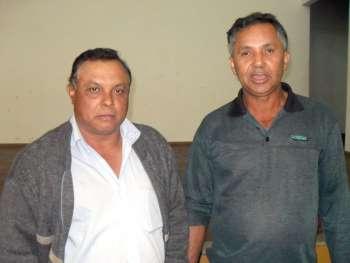 José Aparecido Pereira e Osvaldo de Souza Carvalho foram escolhidos para representar as comunidades rurais