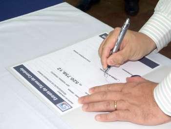 No total foram R$ 19.621.717,22 em convênios assinados