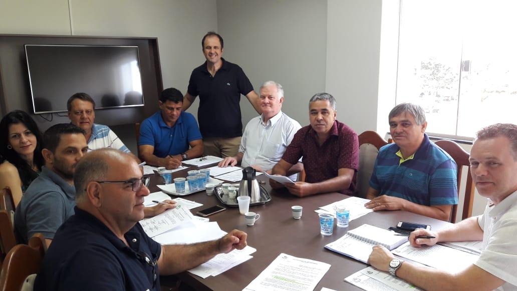 Vereadores realizam várias reuniões durante o Recesso Legislativo.