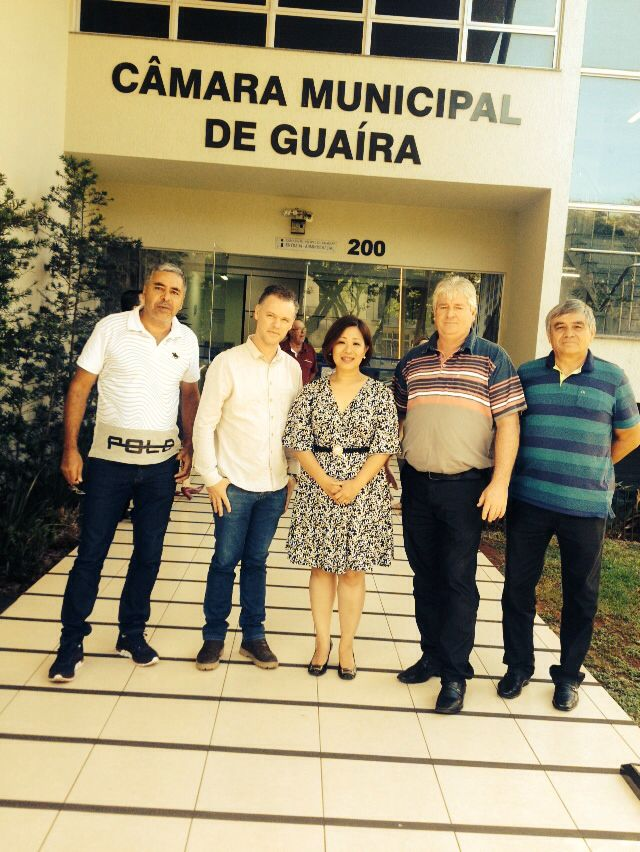Vereadores foram até Guaíra participar de Reunião referente a COPEL.