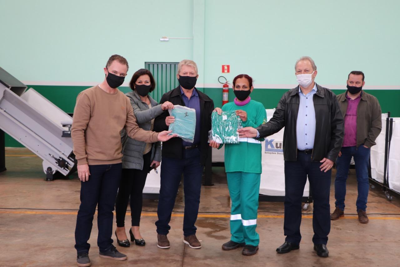 Unidade de Valorização de Reciclável de Cafelândia foi inaugurada