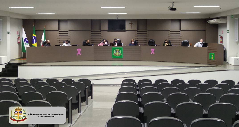 Resumo da Sessão Ordinária do dia 18 de outubro de 2021 às 19:00 Horas.