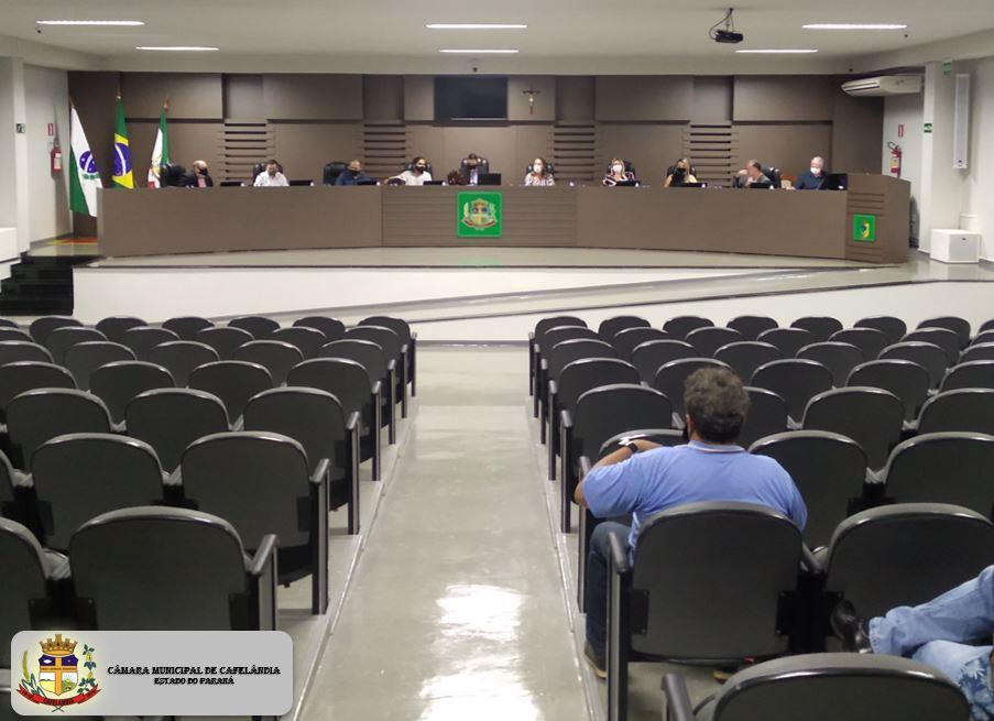 Resumo da Sessão Ordinária do dia 20 de agosto de 2021 às 19:00 Horas.