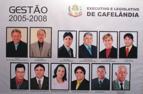 Executivo e Legislativo de Cafelândia 2005 - 2008