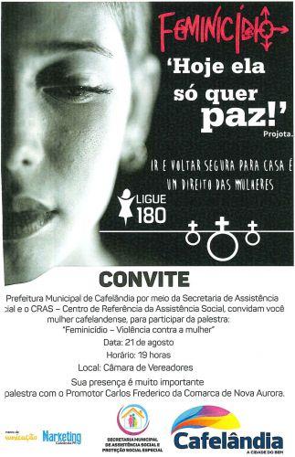 Evento sobre Feminicidio