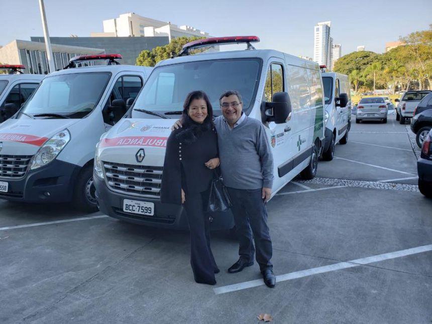 Entrega de mais uma Ambulância para a Saúde
