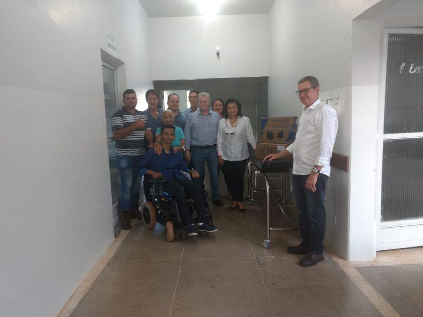 Visita do Deputado Edmar Arruda