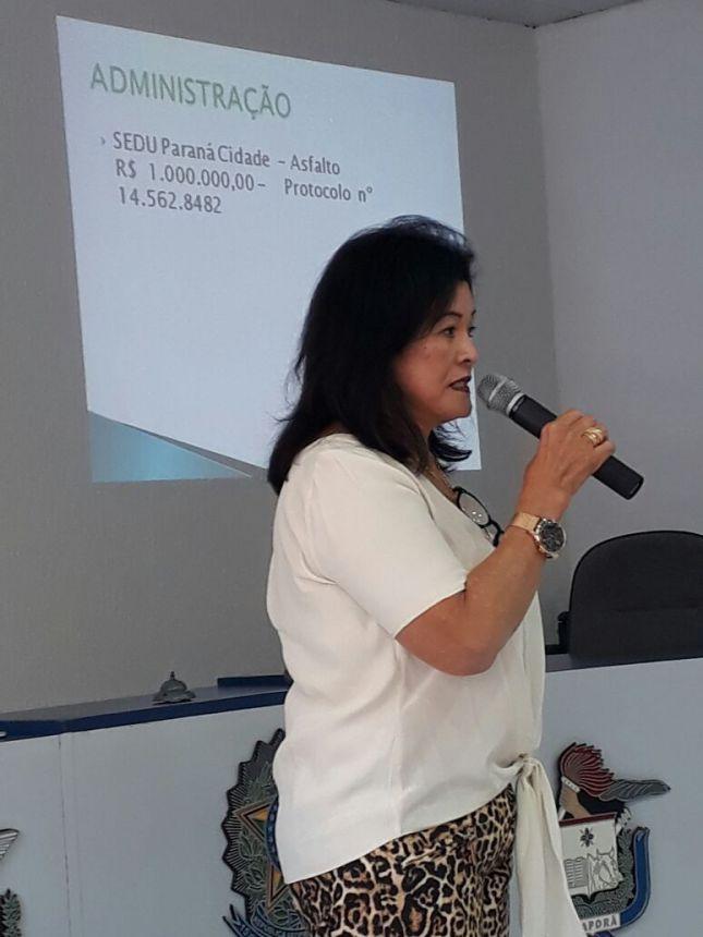 Audiência Publica Recursos recebidos Governo do Estado do Paraná