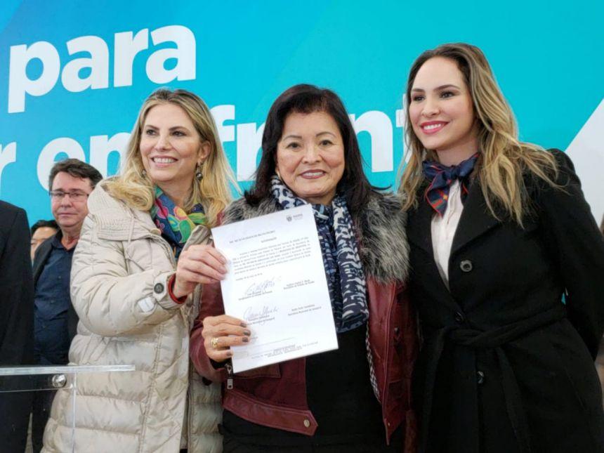 Assinatura  de Convênios com a Governadora Cida Borgueti e Deputada Maria Victoria