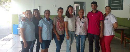 Reunião em Amaporã, com a presença de Priscila Moreno