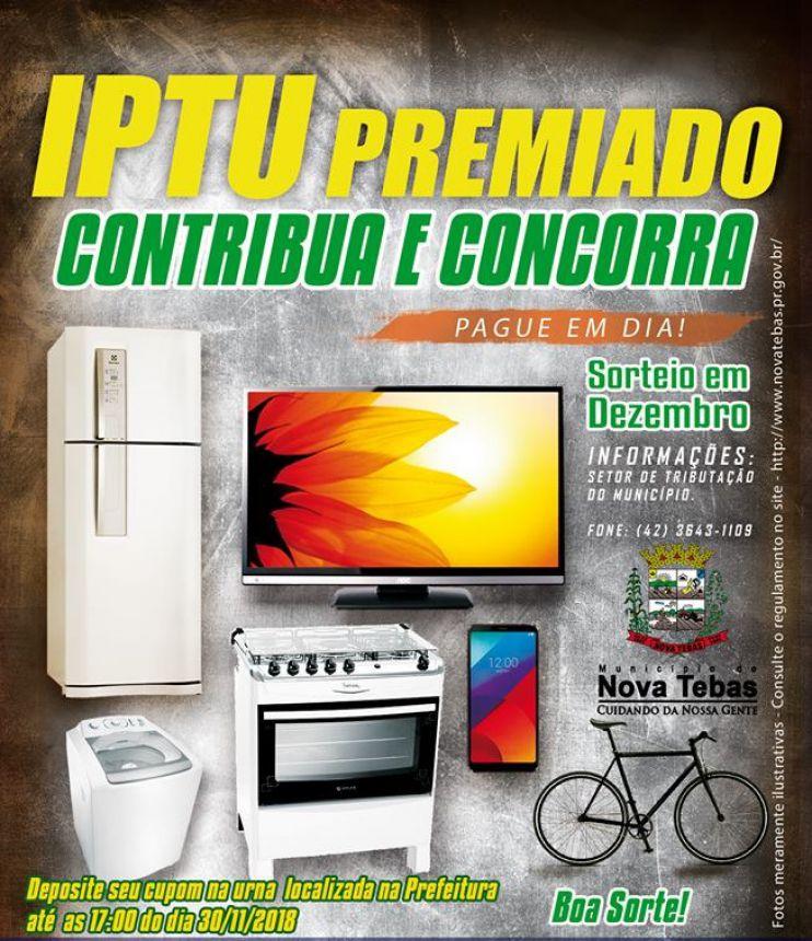 Entrega dos Prêmios - IPTU PREMIADO.