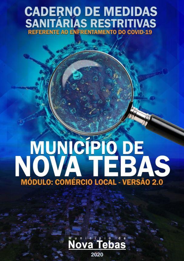Caderno de Medidas Restritivas sanitárias - Modulo Comercio 2.0